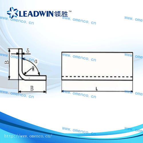 L-shape clamping insulation part